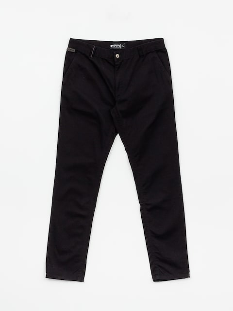 Nohavice Nervous Chino (black)