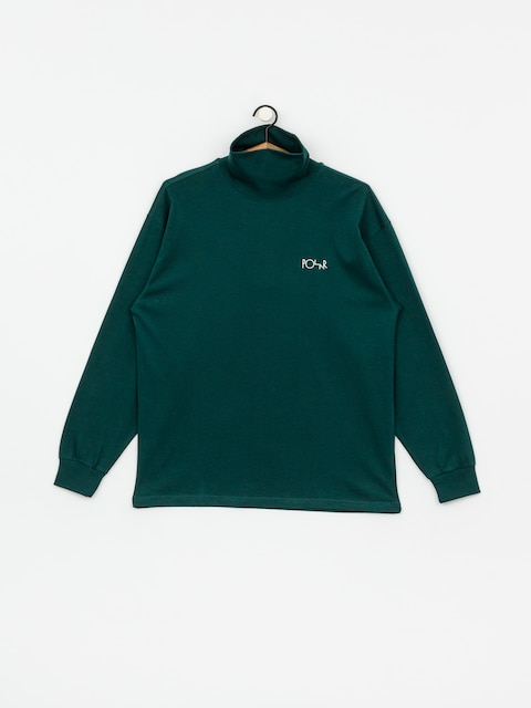 Triko Polar Skate Script Turtleneck (dark green)