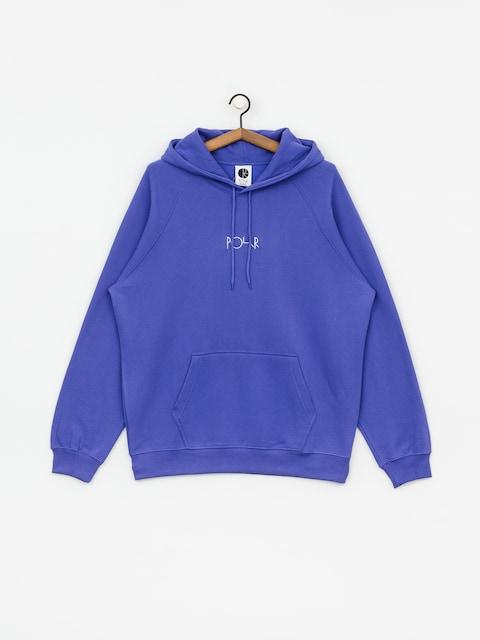 Mikina s kapucňou Polar Skate Default HD (violet)