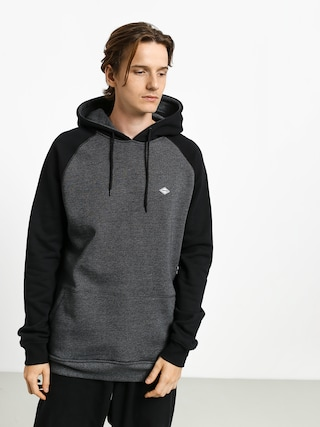 Mikina s kapucňou Volcom Homak HD (heather grey)