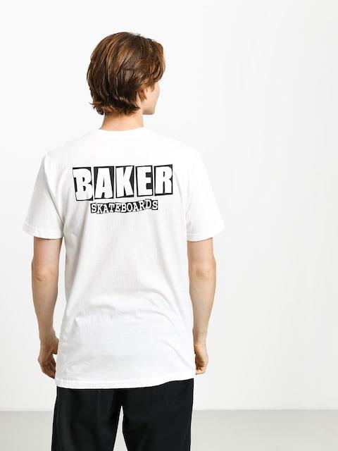 Tričko Baker Brand Logo Dubs (white)