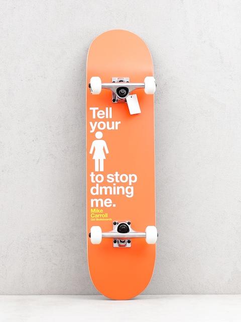 Skateboard Girl Skateboard Carroll Dming Me (orange)