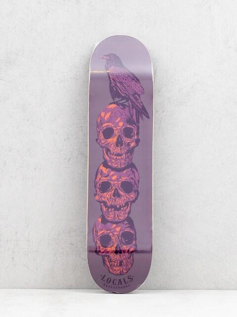 Doska Locals Skateboards Team (purple)