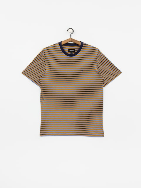 Tričko Brixton Hilt Mini Stripe