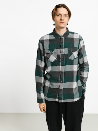 Kou0161eu013ea Vans Box Flannel (trekking green/grey heather)