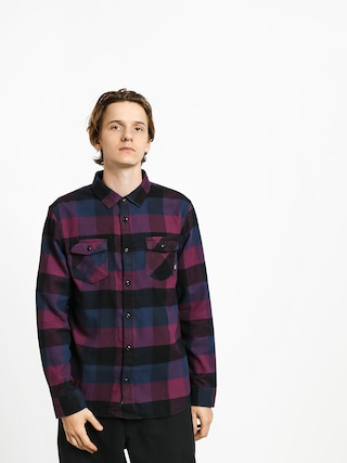 Kou0161eu013ea Vans Box Flannel (prune/dress blues)