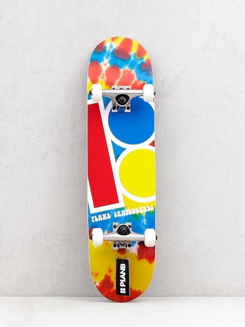 Skateboard Plan B Team Tie Dyed Mini