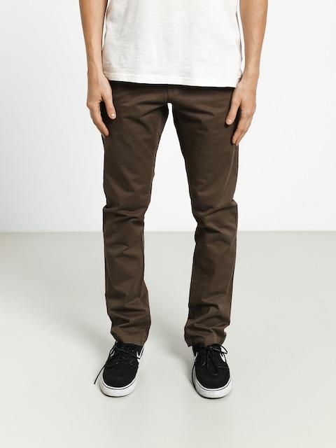 Nohavice Volcom Frickin Slim Chino (major brown)
