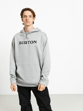 Mikina s kapucu0148ou Burton Oak HD (horiz logo gray htr)