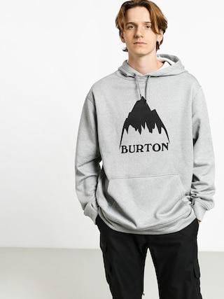 Mikina s kapucu0148ou Burton Oak HD (mtn gray heather)