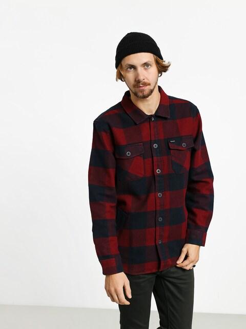 Košeľa Brixton Durham Flannel Ls (navy/red)