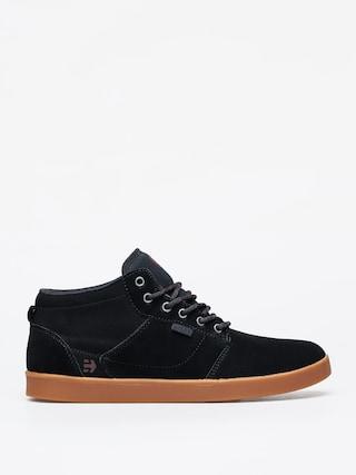 Topu00e1nky Etnies Jefferson Mid (black/gum)