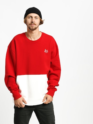 Mikina Es Cera Tech Crew (red/white)