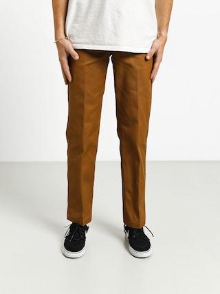 Nohavice Dickies Straight Work Pant (brown duck)