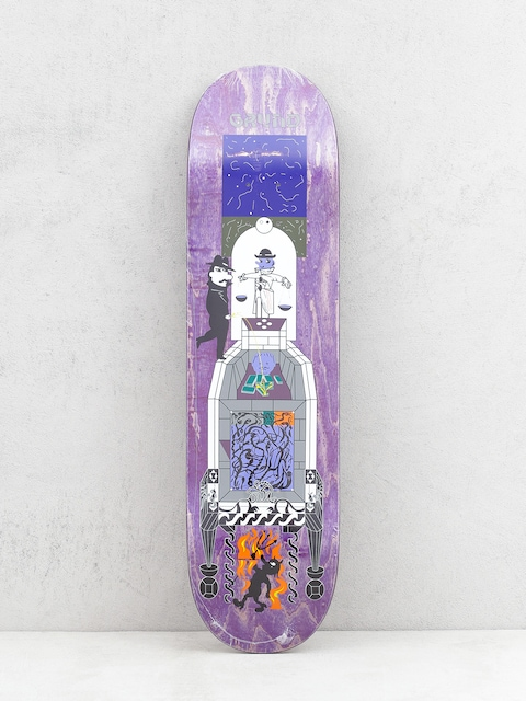 Doska Polar Skate Paul Grund Legacy (purple)