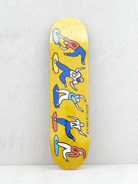 Doska Polar Skate Team Style Is Forever (yellow)