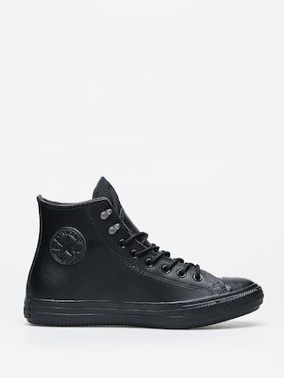 Tenisky Converse Chuck Taylor All Star Hi Winter Leather (black/black/black)