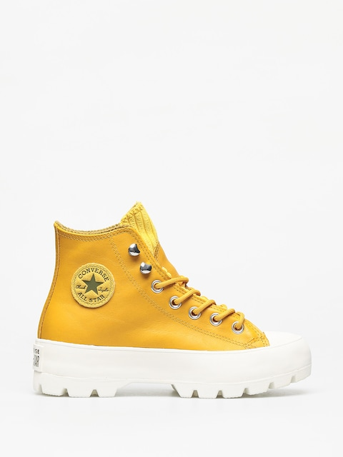 Topánky Converse Chuck Taylor All Star Hi Lugged Winter Wmn (gold dart)