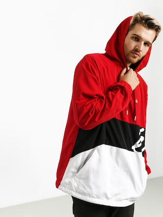 Bunda Es den Anorak (red/white)