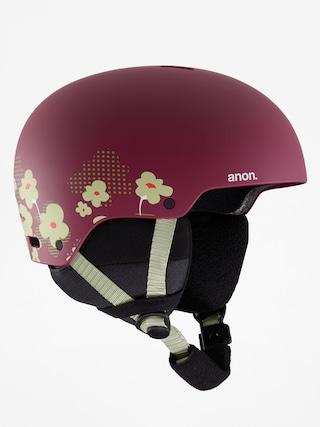 Prilba Anon Rime 3 (flower maroon)