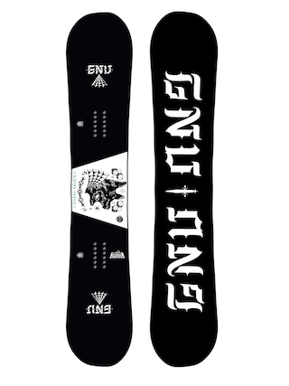 Snowboard Gnu Asym Riders Choice C2X (dog)
