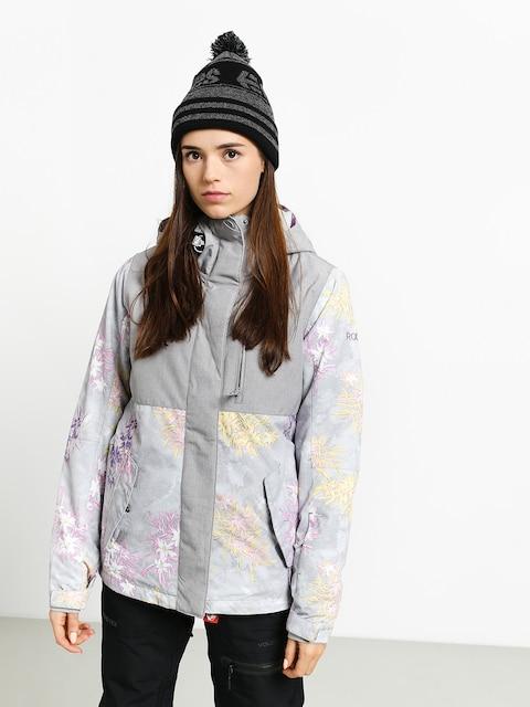 Snowboardová bunda Roxy Jetty Block Wmn (edelweiss)