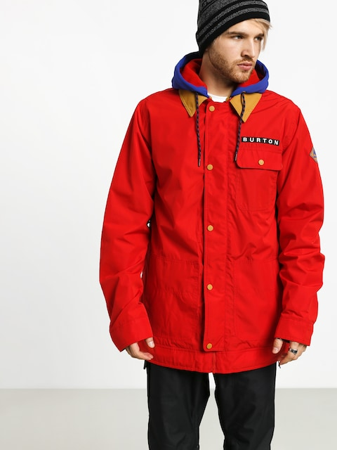 Snowboardová bunda Burton Dunmore (flame scarlet)