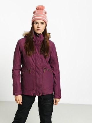 Snowboardová bunda Roxy Meade Wmn (grape wine)