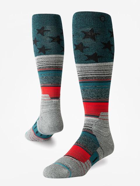 Ponožky Stance Star Fade (green)