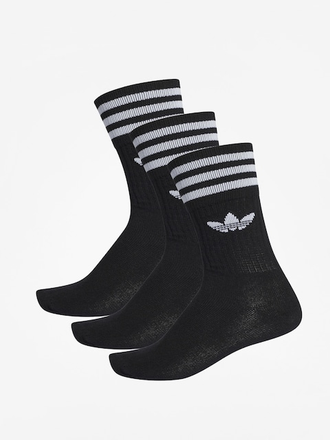 Ponožky adidas Solid Crew (black/white)