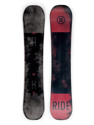 Snowboard Ride Agenda (red/black)
