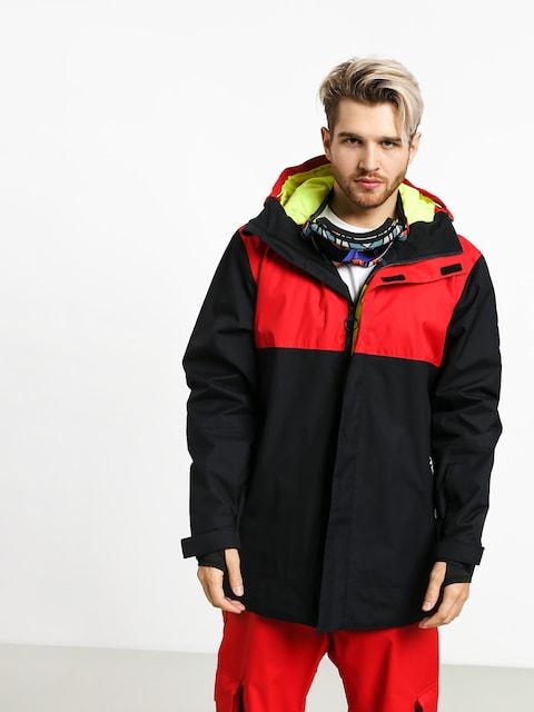 Snowboardová bunda DC Defy (racing red)