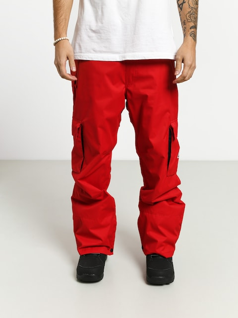 Snowboardové nohavice DC Banshee (racing red)