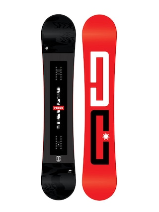 Snowboard DC Focus (red/black)