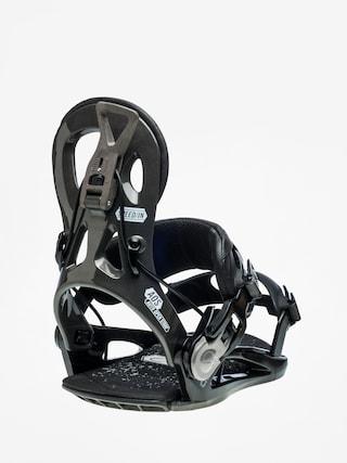 Snowboardovu00e9 viazanie Gnu Cheeter (black)