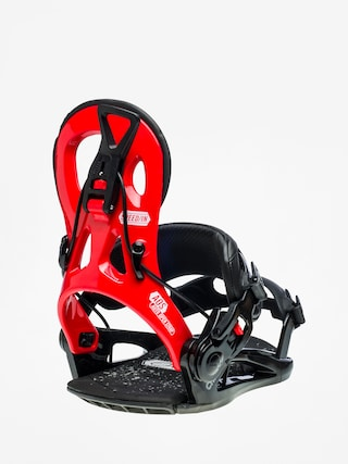 Snowboardovu00e9 viazanie Gnu Cheeter (red)