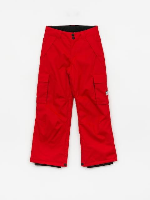Snowboardové nohavice DC Banshee Yth (racing red)