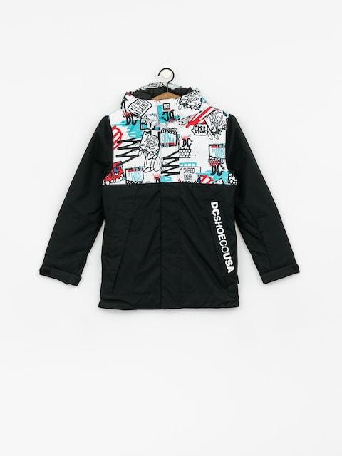 Snowboardová bunda DC Defy Yth (yth mini ply print)