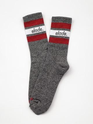 Ponou017eky Elade Stripes (dark grey/white/red)