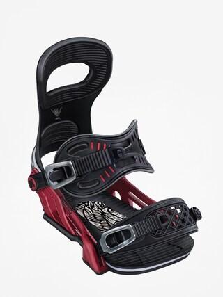 Snowboardovu00e9 viazanie Bent Metal Transfer (red)