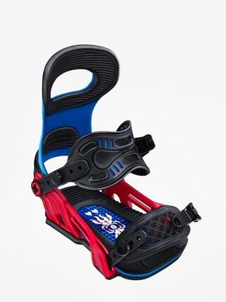 Snowboardovu00e9 viazanie Bent Metal Transfer (blue/red)