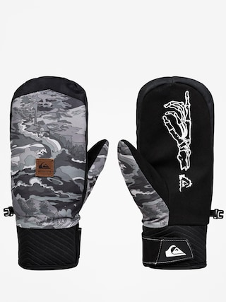 Rukavice Quiksilver Method Mitt (black snowscene)