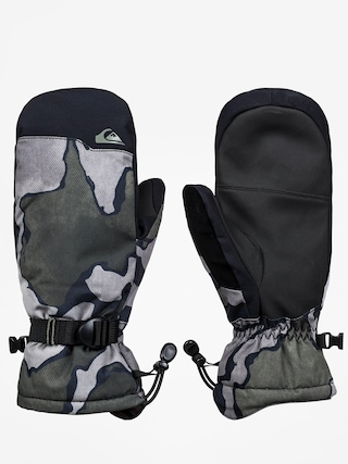 Rukavice Quiksilver Mission Mitt (black sir edwards)