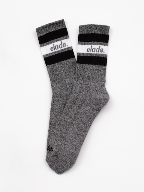 Ponožky Elade Stripes (dark grey/white/black)