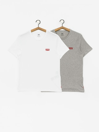 Triu010dko Levi's 2 Pack Crewneck Graphic (white/grey heather)