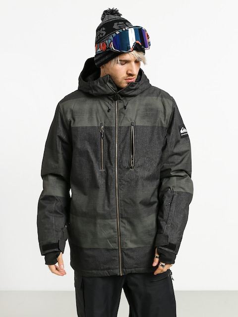 Snowboardová bunda Quiksilver Silvertip (grapeleaf septine)