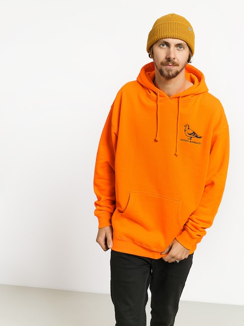 Mikina s kapucňou Antihero Basic Pigeon Emb HD (neon orange)