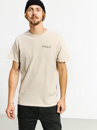 Tričko Real Lower (beige)