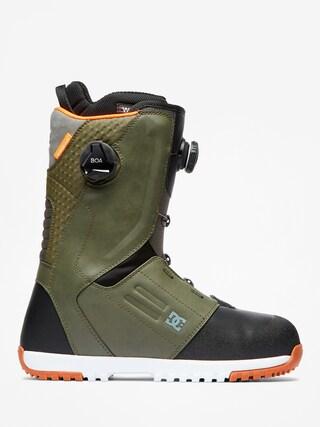 Obuv na snowboard DC Control Boa (olive camo)
