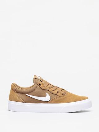 Topu00e1nky Nike SB Chron (golden beige/white)